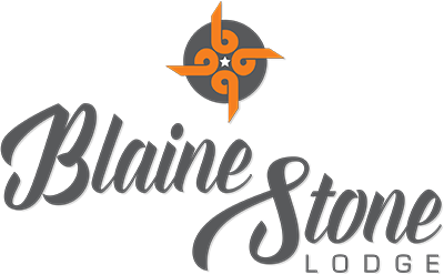 Blaine Stone Lodge logo