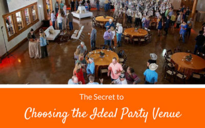 The Secret to Choosing the Ideal Party Venue