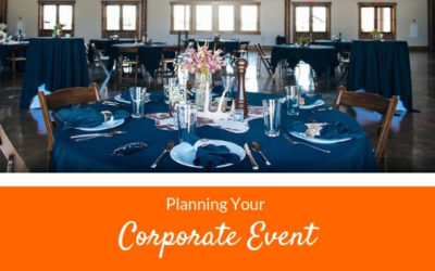 Planning Your Corporate Event