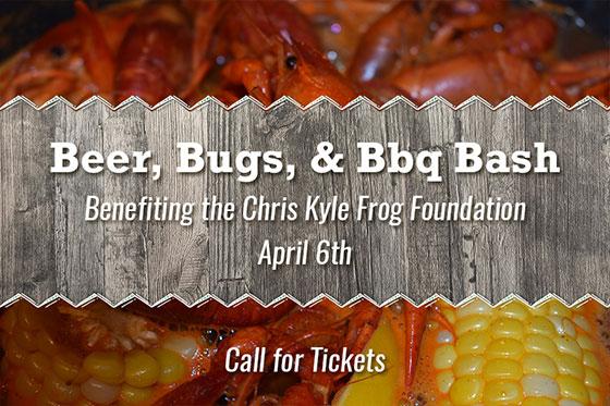 Beer, Bugs & BBQ Bash